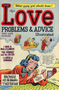 Cover Thumbnail for True Love Problems and Advice Illustrated (Harvey, 1949 series) #5