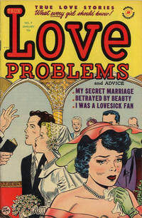 Cover Thumbnail for True Love Problems and Advice Illustrated (Harvey, 1949 series) #7