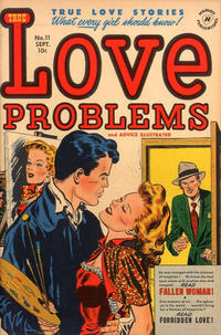 Cover Thumbnail for True Love Problems and Advice Illustrated (Harvey, 1949 series) #11