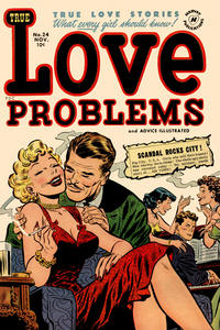 Cover Thumbnail for True Love Problems and Advice Illustrated (Harvey, 1949 series) #24