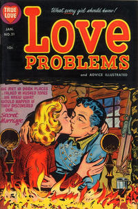 Cover Thumbnail for True Love Problems and Advice Illustrated (Harvey, 1949 series) #31