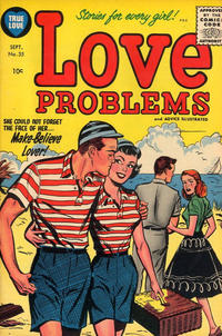 Cover Thumbnail for True Love Problems and Advice Illustrated (Harvey, 1949 series) #35