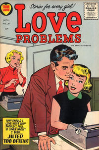 Cover Thumbnail for True Love Problems and Advice Illustrated (Harvey, 1949 series) #36