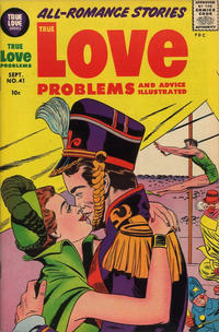 Cover Thumbnail for True Love Problems and Advice Illustrated (Harvey, 1949 series) #41