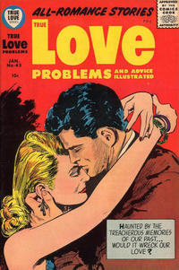 Cover Thumbnail for True Love Problems and Advice Illustrated (Harvey, 1949 series) #43
