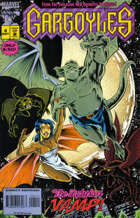 Cover Thumbnail for Gargoyles (Marvel, 1995 series) #4 [Direct Edition]