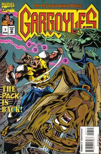 Cover Thumbnail for Gargoyles (Marvel, 1995 series) #7 [Direct Edition]