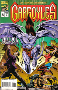 Cover Thumbnail for Gargoyles (Marvel, 1995 series) #8 [Direct Edition]
