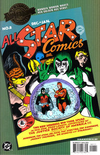 Cover Thumbnail for Millennium Edition: All Star Comics No. 8 (DC, 2001 series)