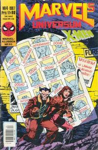 Cover Thumbnail for Marvels universum (Semic, 1987 series) #4/1987