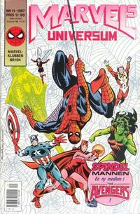 Cover Thumbnail for Marvels universum (Semic, 1987 series) #11/1987