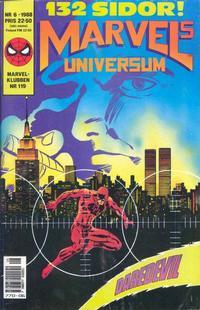 Cover Thumbnail for Marvels universum (SatellitFörlaget, 1988 series) #6/1988