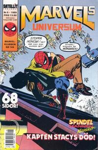 Cover Thumbnail for Marvels universum (SatellitFörlaget, 1988 series) #6/1989