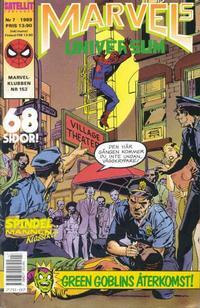 Cover Thumbnail for Marvels universum (SatellitFörlaget, 1988 series) #7/1989