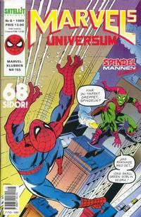 Cover Thumbnail for Marvels universum (SatellitFörlaget, 1988 series) #8/1989