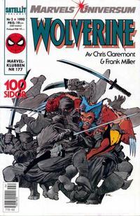 Cover Thumbnail for Marvels universum (SatellitFörlaget, 1988 series) #2/1990