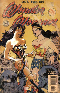 Cover for Wonder Woman (DC, 1987 series) #184 [Direct Edition]