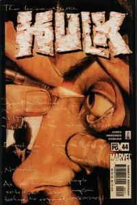 Cover Thumbnail for Incredible Hulk (Marvel, 2000 series) #44