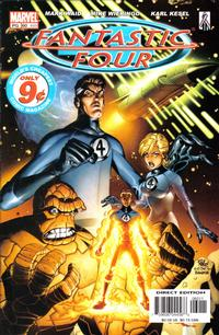 Cover Thumbnail for Fantastic Four (Marvel, 1998 series) #60 (489) [Direct Edition]