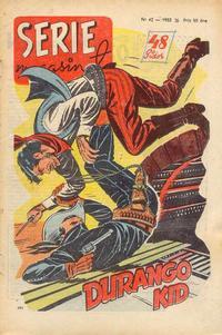 Cover Thumbnail for Seriemagasinet (Centerförlaget, 1948 series) #42/1953