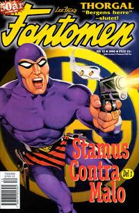Cover Thumbnail for Fantomen (Egmont, 1997 series) #12/2000