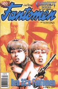 Cover Thumbnail for Fantomen (Egmont, 1997 series) #16/2000
