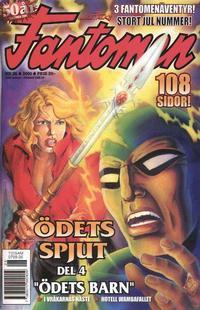 Cover Thumbnail for Fantomen (Egmont, 1997 series) #26/2000