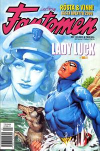 Cover Thumbnail for Fantomen (Egmont, 1997 series) #1/2001