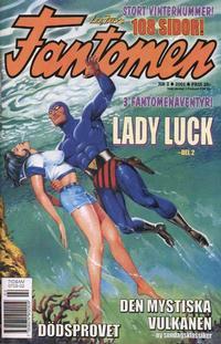 Cover Thumbnail for Fantomen (Egmont, 1997 series) #2/2001
