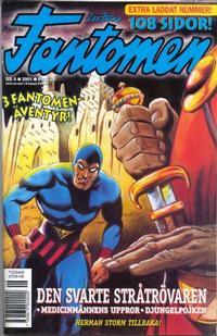 Cover Thumbnail for Fantomen (Egmont, 1997 series) #6/2001