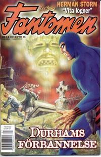 Cover Thumbnail for Fantomen (Egmont, 1997 series) #7/2001