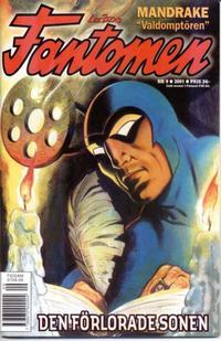 Cover Thumbnail for Fantomen (Egmont, 1997 series) #9/2001