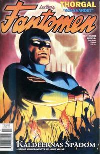 Cover Thumbnail for Fantomen (Egmont, 1997 series) #11/2001