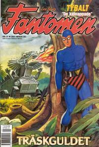 Cover Thumbnail for Fantomen (Egmont, 1997 series) #21/2001