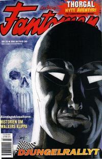 Cover Thumbnail for Fantomen (Egmont, 1997 series) #23/2001
