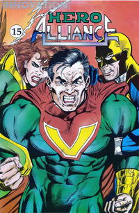 Cover Thumbnail for Hero Alliance (Innovation, 1989 series) #15