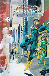 Cover Thumbnail for Hero Alliance (Innovation, 1989 series) #17