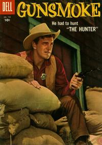 Cover Thumbnail for Four Color (Dell, 1942 series) #720 - Gunsmoke [Wrigley's Juicy Fruit back cover]