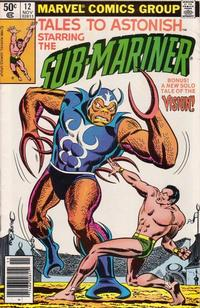 Cover Thumbnail for Tales to Astonish (Marvel, 1979 series) #12