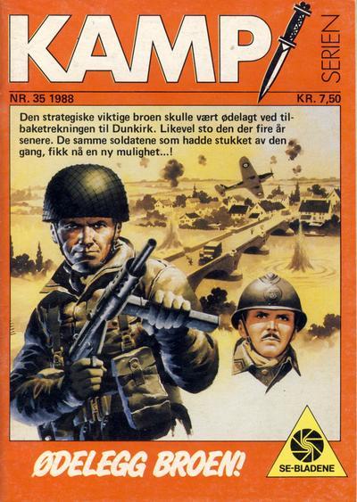 Cover for Kamp-serien (Serieforlaget / Se-Bladene / Stabenfeldt, 1964 series) #35/1988