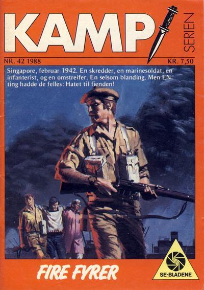 Cover for Kamp-serien (Serieforlaget / Se-Bladene / Stabenfeldt, 1964 series) #42/1988
