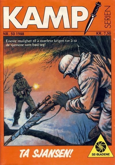 Cover for Kamp-serien (Serieforlaget / Se-Bladene / Stabenfeldt, 1964 series) #50/1988