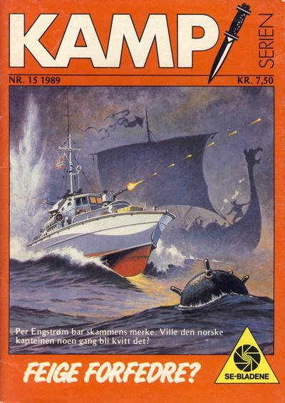 Cover for Kamp-serien (Serieforlaget / Se-Bladene / Stabenfeldt, 1964 series) #15/1989
