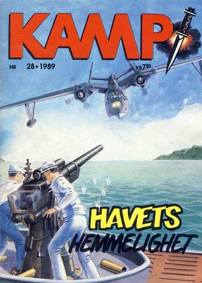Cover for Kamp-serien (Serieforlaget / Se-Bladene / Stabenfeldt, 1964 series) #28/1989