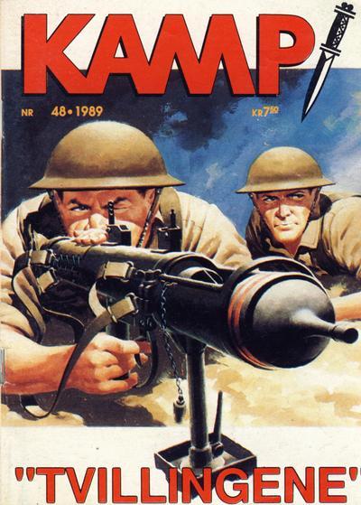 Cover for Kamp-serien (Serieforlaget / Se-Bladene / Stabenfeldt, 1964 series) #48/1989