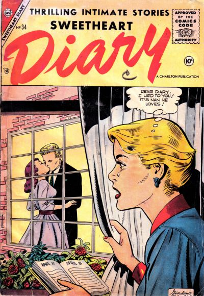 Cover for Sweetheart Diary (Charlton, 1955 series) #34