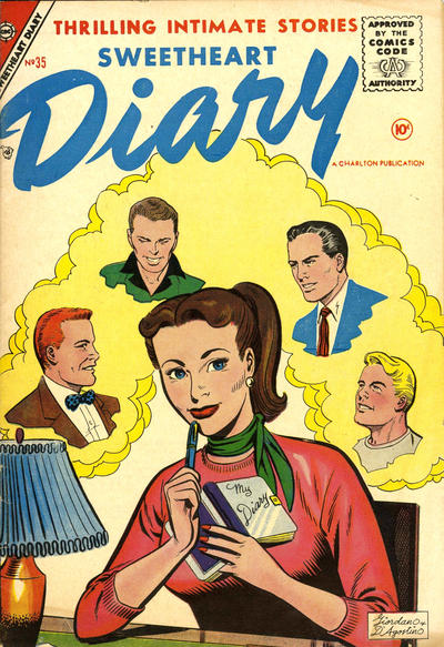 Cover for Sweetheart Diary (Charlton, 1955 series) #35