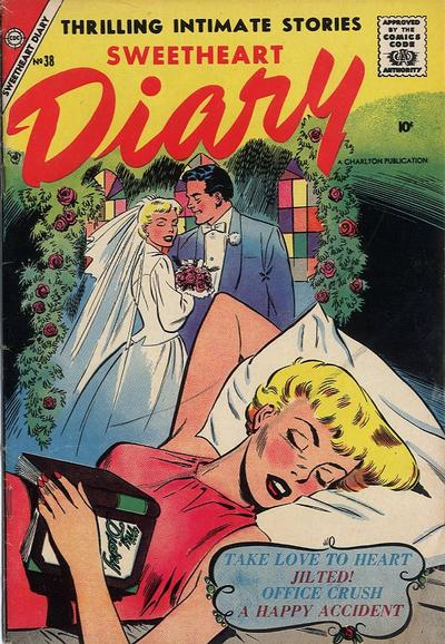 Cover for Sweetheart Diary (Charlton, 1955 series) #38