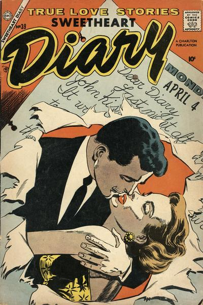Cover for Sweetheart Diary (Charlton, 1955 series) #39