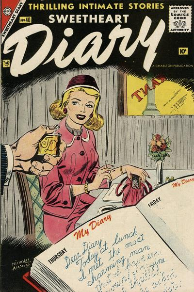 Cover for Sweetheart Diary (Charlton, 1955 series) #40